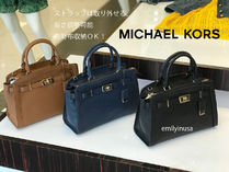 追跡有 Michael Kors★KARSON LG SATCHEL 2WAYバッグ