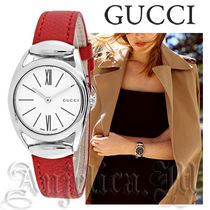 ★セール!関税・送料込★GUCCI Horsebit  Red Leather YA140501