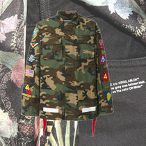 **OFFWHITE**2018AW camouflage patch cargo jacket