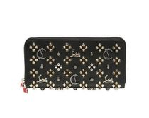 【Christian Louboutin】可愛い!! SPIKES LEATHER WALLET