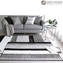 DECO VIEW(デコヴュー) ★Modern Block Soft RUG - 140 x 100