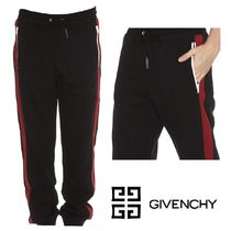 VIP価格【GIVENCHY】4G AND LATERAL TAPES JOGGING PANT 関税込