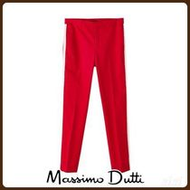 MassimoDutti♪CHINOS WITH SIDE STRIPES