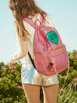 Entre Reves バックパック・リュック 【Entre Reves】A-PINK着用★BRAVE HEART BACKPACK★日本未入荷