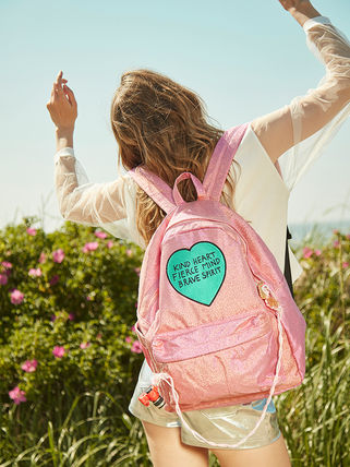 Entre Reves バックパック・リュック 【Entre Reves】A-PINK着用★BRAVE HEART BACKPACK★日本未入荷(2)