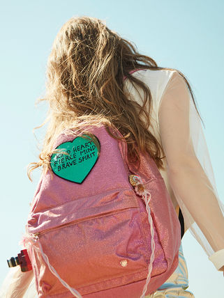 Entre Reves バックパック・リュック 【Entre Reves】A-PINK着用★BRAVE HEART BACKPACK★日本未入荷(4)