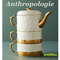 送関込☆Anthropologie☆Duet Tea For Two Set2名分ティーセット
