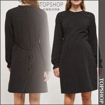 【国内発送・関税込】TOPSHOP★MATERNITY Spot Shirred Dress