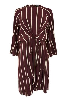 TOPSHOP マタニティワンピース 【国内発送・関税込】TOPSHOP★MATERNITY Stripe Knot Dress(2)