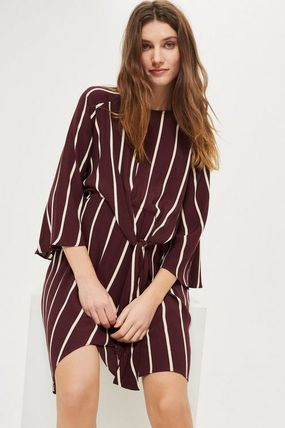 TOPSHOP マタニティワンピース 【国内発送・関税込】TOPSHOP★MATERNITY Stripe Knot Dress(3)