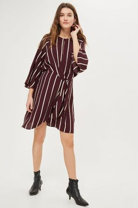 TOPSHOP マタニティワンピース 【国内発送・関税込】TOPSHOP★MATERNITY Stripe Knot Dress(4)