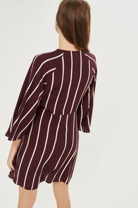 TOPSHOP マタニティワンピース 【国内発送・関税込】TOPSHOP★MATERNITY Stripe Knot Dress(5)