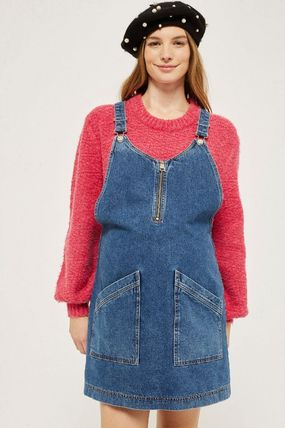 TOPSHOP マタニティワンピース 【国内発送・関税込】TOPSHOP★MATERNITY Zip Pinafore Dress(3)