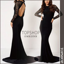 【国内発送・関税込】TOPSHOP★Lace Fishtail Maxi by Club L