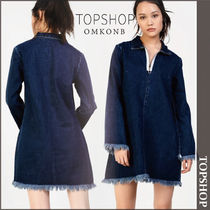 【国内発送・関税込】TOPSHOP★Denim Zip Dress by Glamorous