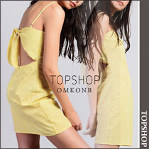 【国内発送・関税込】TOPSHOP★Gingham Slip Dress by Glamorous