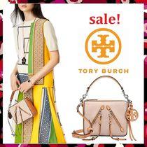 セール 新作 Tory Burch 未発売  Moto Medium Canvas Cross-Body