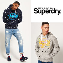 Superdry(極度乾燥)★Paint グラフィックフーディ☆選択2色