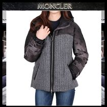 【MONCLER GAMME ROUGE】MAO-LY  ウールMIXダウンジャケット/EMS