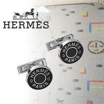 HERMES(エルメス) Boutons de manchettes Licol 2 カフリンクス