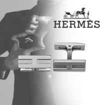 HERMES(エルメス)  Boutons de manchettes Oxford カフリンクス