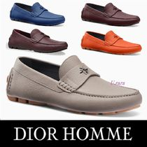 18FALL新作【DIOR HOMME】5色展開★カーフスキン ローファー