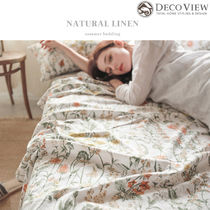 DECO VIEW(デコヴュー) ★Natural Linen Summer Bedding -SS