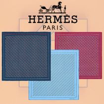 HERMES 2018-19AW Job Interview ポケットチーフ シルク