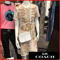 【COACH】可愛い♪ Spooky Cottage Print Military Dress★33214