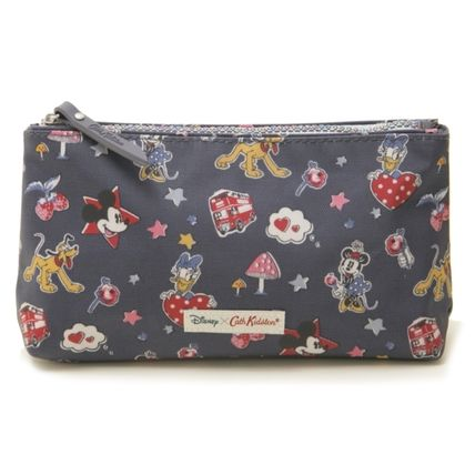 Cath Kidston メイクポーチ キャスキッドソン ポーチ 734707 Mickey & Minnie Little Patch