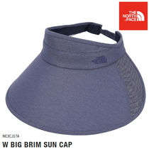 THE NORTH FACE★W BIG BRIM SUN CAP - NE3CJ17A(NAVY)