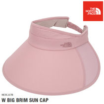 THE NORTH FACE★W BIG BRIM SUN CAP - NE3CJ17B (PEACH)