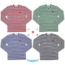 COMME des GARCONS PLAY*ボーダー ロングTシャツ