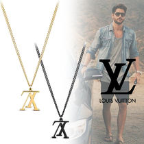 【直営店買付】Louis Vuitton・LV UPSIDE DOWN NECKLACE / 2色