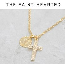 THE FAINT HEARTED(ザフェイントハーテッド) ネックレス・ペンダント 日本未発売【THE FAINT HEARTED】Saint + Crossネックレス