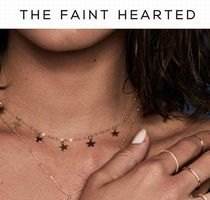 THE FAINT HEARTED(ザフェイントハーテッド) ネックレス・ペンダント 日本未発売【THE FAINT HEARTED】5 Star Charmネックレス
