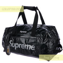 国内発送☆17AW Supreme Nylong Printed Logo Duffle Bag