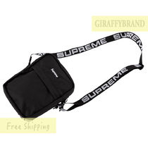 国内発送☆ブラック 18SS Supreme Cordura Nylon Shoulder Bag