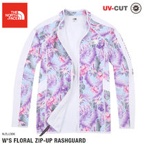 THE NORTH FACE★ W 'S FLORAL ZIP-UP RASHGUARD- NJ5JJ38K