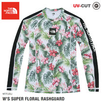 THE NORTH FACE★ W'S SUPER FLORAL RASHGUARD- NT7TJ31J