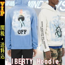 "◆◆VIP◆◆ Off-White  ""LIBERTY""  フーディ / 送税込"