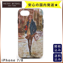 関・送込★Henri Bendel DOWNTOWN GIRL IPhone 7/8ケース 追跡有