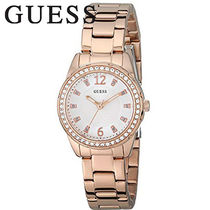 G BY GUESS(ジーバイゲス) アナログ腕時計 GUESS Stainless Crystal Accented レディース 腕時計 U0445L3