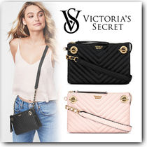 【関税込】Victoria's Secret ★Pebbled V-QuiltクロスボディBAG