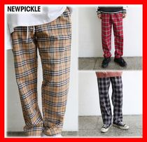 韓国の人気☆【NEWPICKLE】☆  IC CHECK PANTS ☆3色☆UNISEX☆