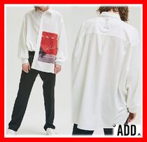 2018SS★韓国の人気【ADD】★ GRAPHIC OVERSIZED SHIRTS ★