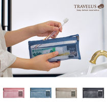 【TRAVELUS】MESH POUCH SLIM LONG V.4~♪《全4種》