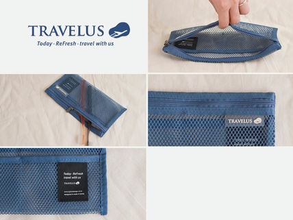 トラベルポーチ 【TRAVELUS】MESH POUCH SLIM LONG V.4~♪《全4種》(11)