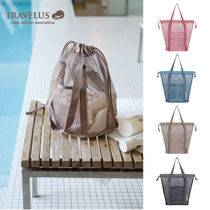 【TRAVELUS】MESH POUCH BUCKET~♪《全4種》