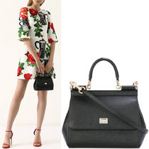 18-19AW DG1665 SICILY BAG IN DAUPHINE LEATHER SMALL